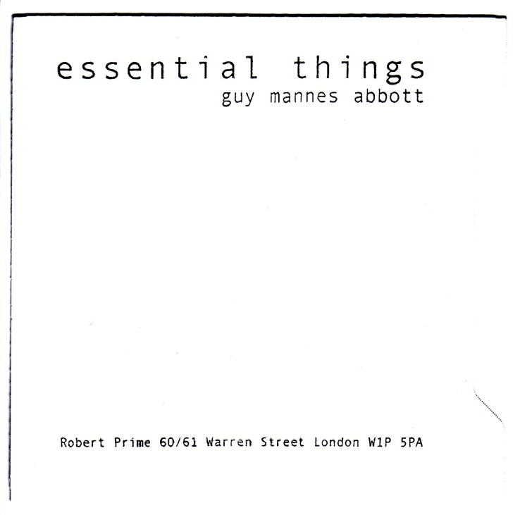 essential things CDR cover robert prime copy