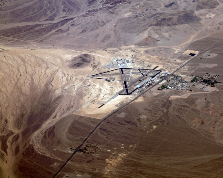 Home of the DRONE Creech_Air_Force_Base_aerial